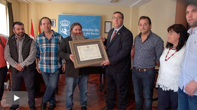 Foto de Raúl Pérez: Espero poder contribuir con mi trabajo a dinamizar Villafranca y el Bierzo