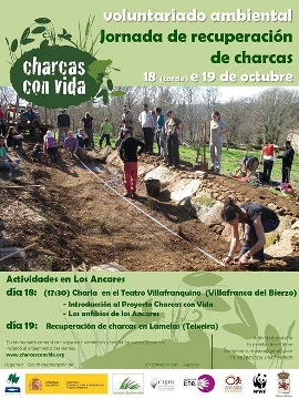 Foto de Jornada de recuperación de charcas.