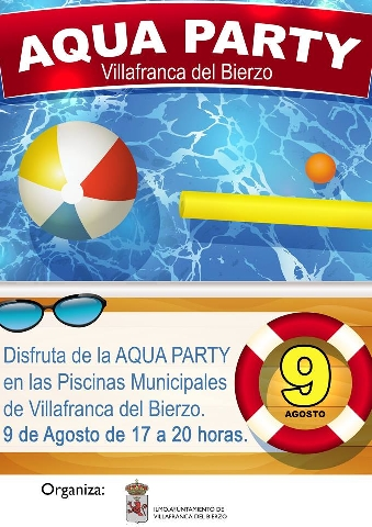 Foto de AQUA PARTY en las Piscinas Municipales