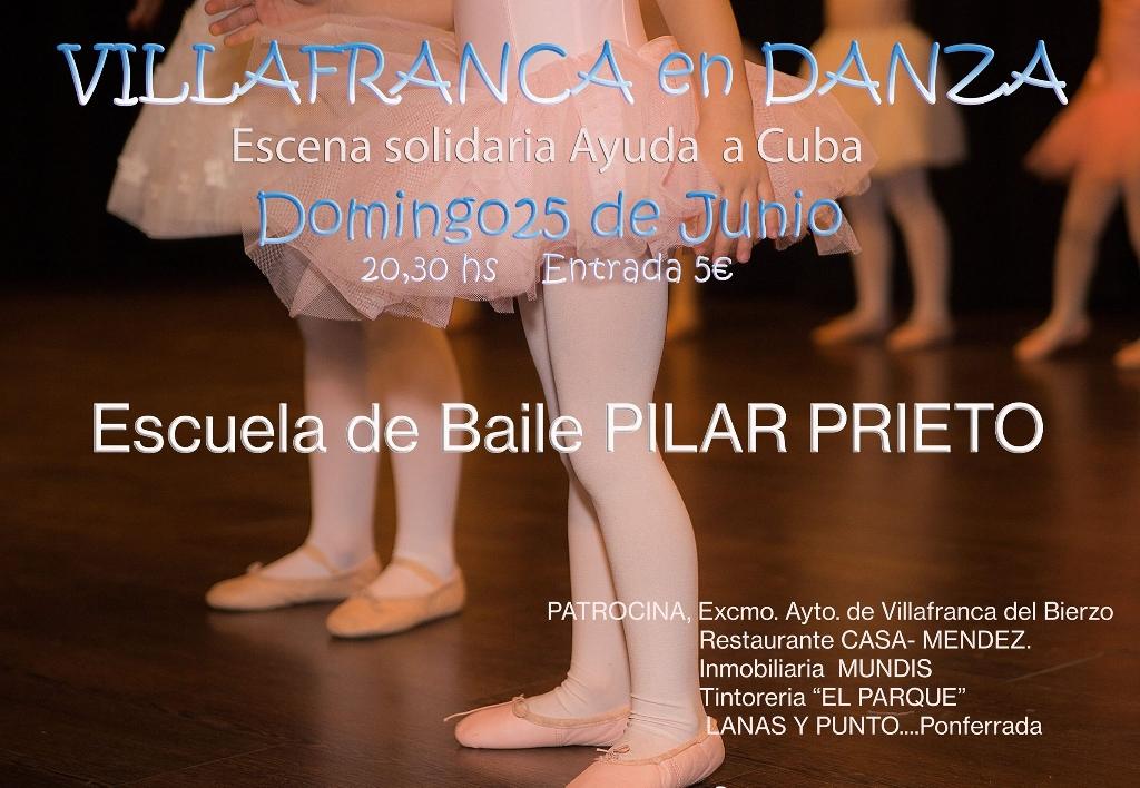Foto de Actuación de la Escuela de Baile Pilar Prieto en el Teatro