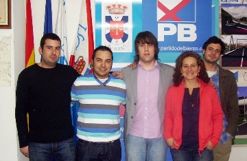 Foto de El PB presenta a Juan Rasilla como su candidato a la Alcaldía de Villafranca del Bierzo