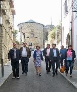 Foto de Villafranca del Bierzo luce nuevo acondicionamiento del entorno del Castillo