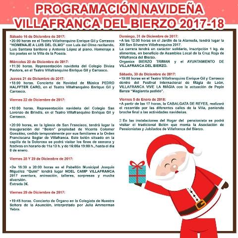 Foto de PROGRAMACIÓN NAVIDEÑA 2017 - REYES 2018
