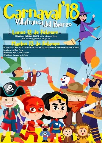 Foto de Carnaval 2018 en Villafranca del Bierzo