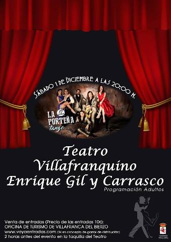 Foto de La Porteña llevará el mejor tango Argentino al Teatro Villafranquino