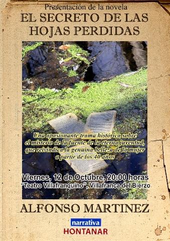 """Foto de Presentación de """"El secreto de las hojas perdidas"""""""