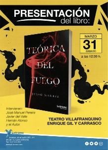 """Foto de Presentación del libro """"Teórica del Fuego"""""""