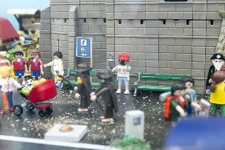 Foto de Más de 3.000 personas visitaron en julio la exposición de Playmobil