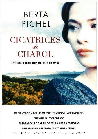 """Foto de Presentación del libro """"Cicatrices de Charol"""" en el Teatro Villafranquino"""
