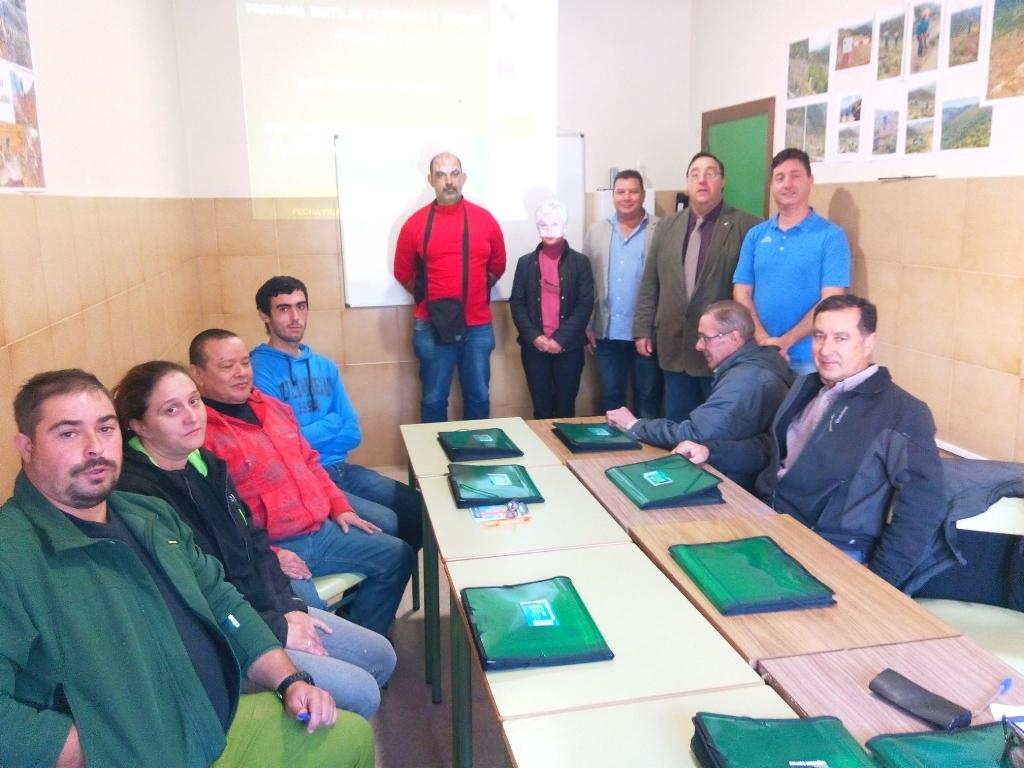 """Foto de Recuperación del Monte """"Peña de la Marquesa"""" y creación de área para peregrinos en Villafranca del Bierzo"""