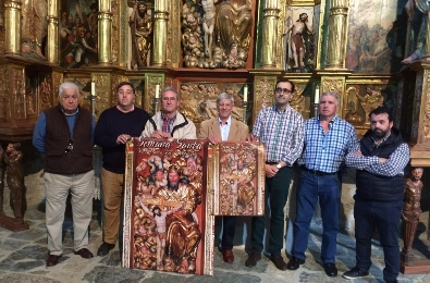 Foto de Villafranca presenta su Semana Santa con el retablo de la Santísima Trinidad como referente