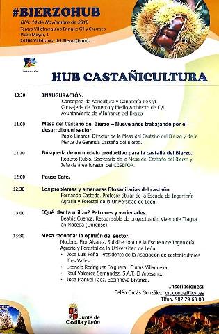 Foto de HUB sobre Castañicultura