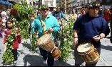 Foto de Villafranca evoca la llegada de la primavera con la Festa do Maio