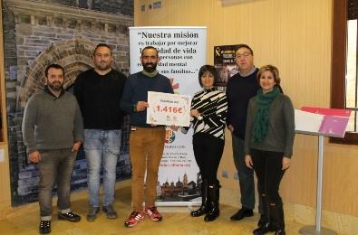 Foto de DragoMan recauda 1.416 euros para financiar el proyecto de terapia Ecuestre de Alfaem