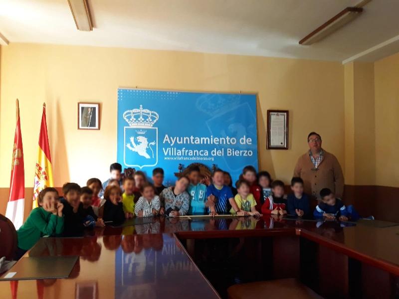 Foto de Visita de los alumnos del Colegio Público San Lorenzo de Brindis